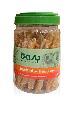 Oasy Involtini Snack con Filetto di Pollo 350 gr