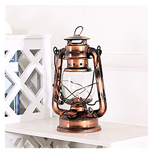 RH-HPC Estilo Retro iluminación portátil lámpara de keroseno Metal Acampar Ligero de Camping al Aire Libre Carpa de la lámpara de la lámpara de Emergencia del hogar