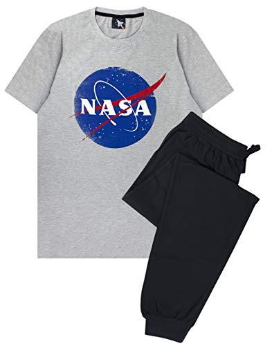 Nasa Espacial Hombres del Logotipo de Pijama Salón Conjunto