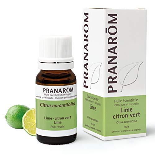 Pranarôm | Huile Essentielle Lime | Citron Vert | Citrus aurantifolia | Fruit | HECT | 10 ml