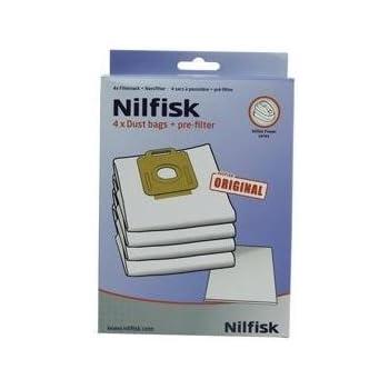20 Bolsas Para Aspiradoras Nilfisk Coupe Special: Amazon.es: Hogar