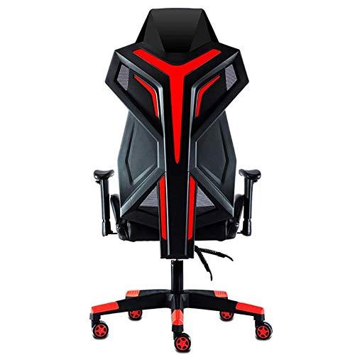 SXFYWYM Computer Chair Home E-sport-gamestoel ergonomische bureaustoel geen voetsteun Reclining draaistoel Boss stoel voor comfort