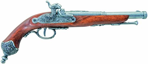 old flintlock pistol - 3