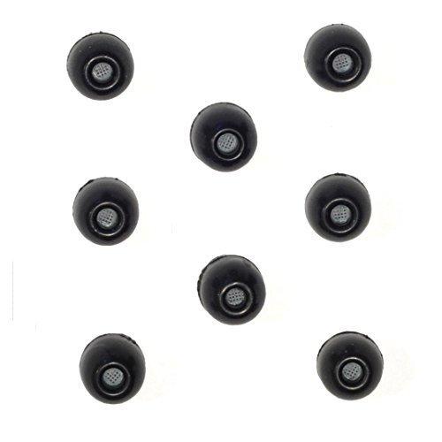 8 PACK - Small SHURE EABKF1-10S (PA910S) Replacement Black Foam Ear tips sleeves fit SHURE SE110 SE112 SE115 SE210 SE215 SE310 SE315 SE420 SE425 SE530 SE535 SE846 E3c E3g E4c E4g E5c and Westone Noise Isolating In-Ear Headphones Earphones