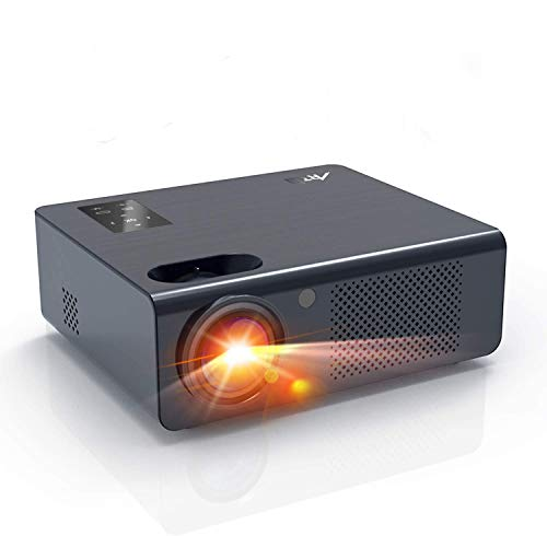 """Movie Projector- Artlii Energon 2020 Home Theater Projector with HiFi Stereo and Lens Zooming, 250"""" Vital Outdoor Projector Support 1080P, Compatible with PS4, HDMI, USB Remote Learning"""