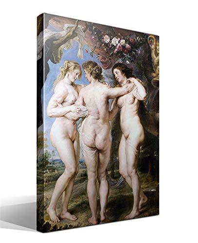 Cuadro Canvas Las Tres Gracias de Peter Paul Rubens