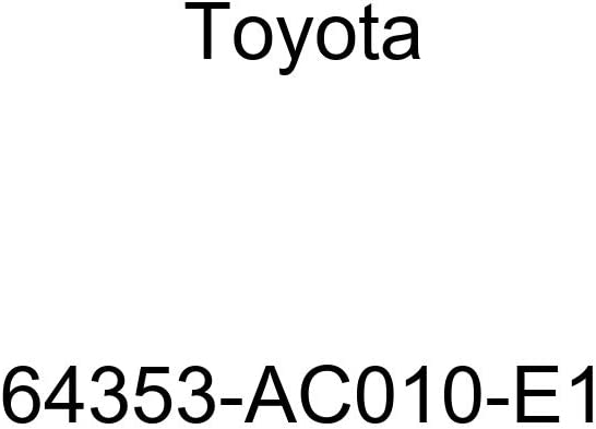 Free Shipping Cheap Bargain Gift TOYOTA 64353-AC010-E1 Limited price sale Package Tray Hole Belt Cover Trim