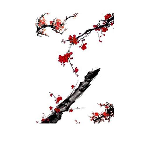 Chinesische Tintentapete des abstrakten Kunstdesigns des chinesischen Stils