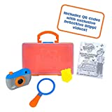 Blippi Detective Roleplay Set - Carry Case, Camera, Personalized Yellow Badge, Magnifying Glass, Activity Sheets for Ultimate Toddler and Young Child Mystery Adventure - Exclusive Content Included