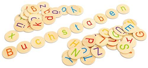Betzold 41343 - Buchstaben-Chips – Sprachförderung, Sprechen Lernen Grundschule, Literacy