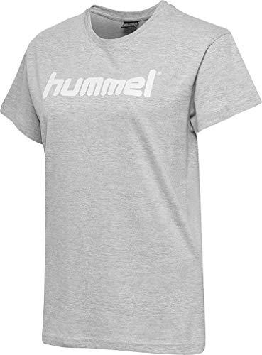 hummel Camiseta de algodón con Logotipo para Mujer.