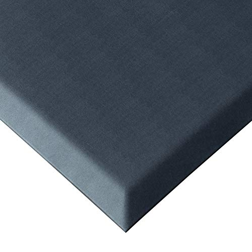 Royal Anti-Fatigue Comfort Mat - 20' x 32' x 3/4' Thick Cushioned - Multi Surface All-Purpose Luxurious Comfort - for Kitchen, Bathroom or Workstations - (20' x 32', Jet Black)