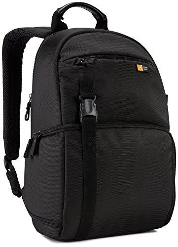 Case Logic BRBP-105 Black Mochila Poliéster - Mochila para portátiles y netbooks (Poliéster, Black, Monótono, Cremallera, 270 mm, 170 mm)