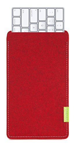 WildTech Sleeve für Apple Magic Keyboard 2 Hülle Tasche - 17 Farben (Handmade in Germany) - Kirschrot
