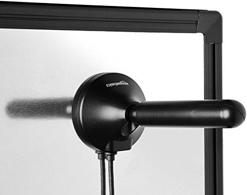 Antenne de télévision portable pour l'intérieur, avec base magnétique, pour réception de télévision numérique avec tuner-EU DVB-T ou DVB-T2