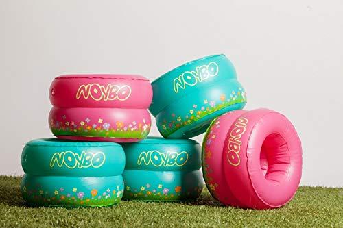 Noybo - vasino da viaggio e vasino per bambini piccoli - leggero, gonfiabile, pieghevole e facile da trasportare. La soluzione ottimale per ogni escursione. (Turq)