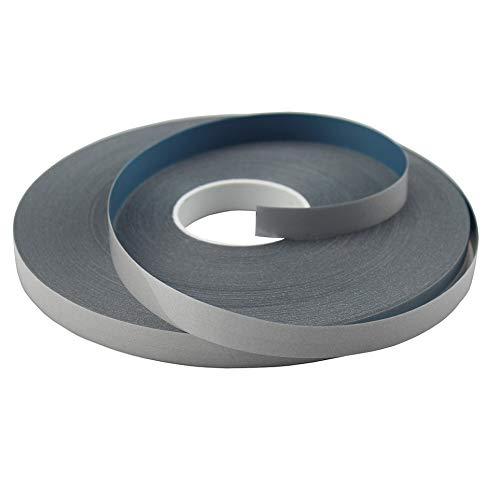 Elastic Silver Iron On Reflective Tape Heat Transfer Vinyl DIY 10mm x 50meter