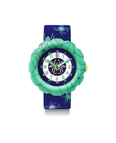 Flik Flak Unisex Analog Schweizer Quarz Uhr mit Textil Armband FPSP039