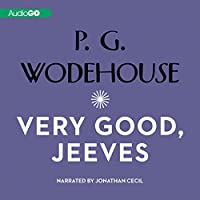 Very Good Jeeves audio book