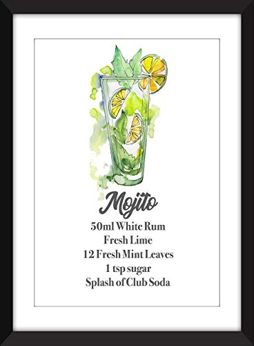 The Perfect Mojito - Unframed Print/Ungerahmter Druck