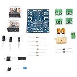 12-24V Dual Relay 7812 UPC1237 Módulo de placa de protección de altavoz de audio Kit de bricolaje para HIFI