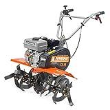 Motoculteur essence 7CV 210 cm³ 6 lames largeur de travail 30 à 85 cm