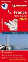 Northwestern France - Michelin National Map 706 (Michelin National Maps)
