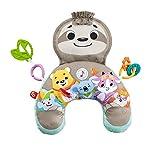 Il prodotto è adatto per neonati Lavabile in lavatrice Il prodotto contiene due giochi di attività riposizionabili, che includono un massaggiagengive La faccia di bradipo ha musica e vibrazioni fino a 10 minuti