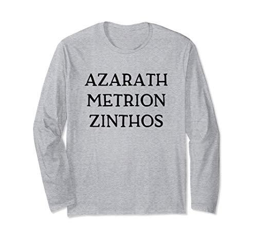 Azarath Metrion Zinthos T-Shirt Anime Comics Super Heroes Manga Larga