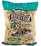 Trader Joe's Organic Brown Rice & Quinoa Fusilli Pasta Gluten Free CASE OF 4 BAGS