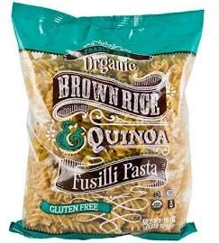 Trader Joe#039s Organic Brown Rice amp Quinoa Fusilli Pasta GLUTEN FREE 16 oz CASE OF 4