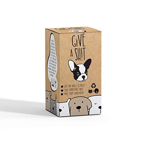 Sacchetti Compostabili per Cacca di Cane - 10% Donati in Beneficenza - Biodegradabili con Materiali a Base Vegetale - Sacchi per Rifiuti Usa e Getta Earth Friendly Per Cani - Inodori e Compostabili