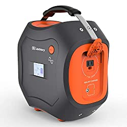 The Jackery Solar Generator has a 300 watt pure sine wave inverter with surge capacity at 500 watts