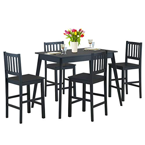 simplyUSAhello 5 Piece Counter Height Dining Set Kitchen Table