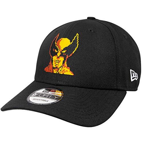 New Era - Marvel Wolverine 80th 9Forty Snapback Cap - Schwarz Größe One Size, Farbe Schwarz