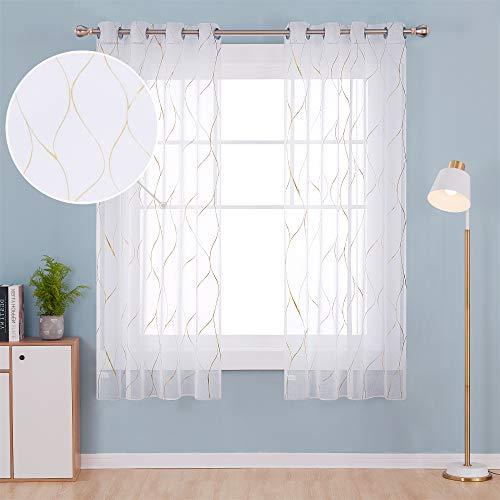 cortinas habitacion matrimonio translúcida