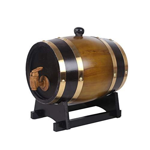 MSF Figurines 4 Kleuren Eiken Emmer Drank Machine Met Ingebouwde Folie Pad Voor het opslaan van uw eigen Whiskey, Bier, Wijn, Bourbon, Brandy, Hete Saus 3-20L