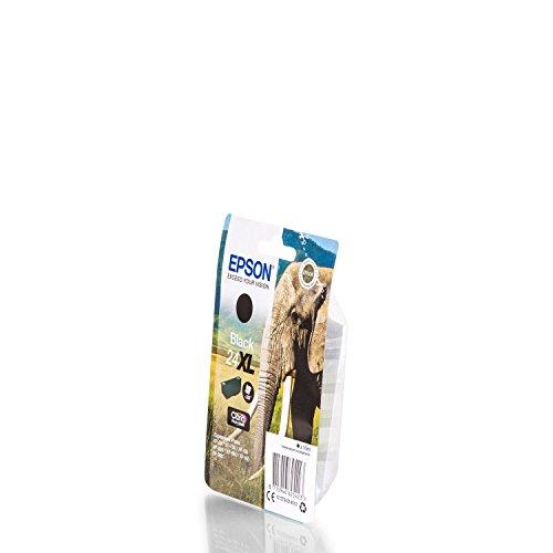 EPSON Druckerpatrone Serie 24 Elefant Claria Photo HD - 500 Seiten - schwarz