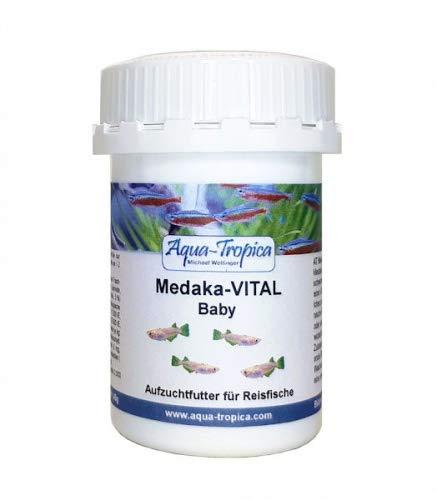Aqua-Tropica Medaka-VITAL Baby 40g - Aufzuchtfutter für Medaka, Reisfische, Futter