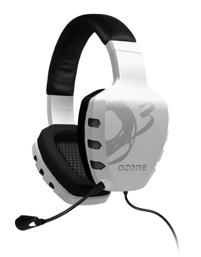 Ozone Gaming White Rage ST Advanced On-Line Gaming Headset – OZRAGESTW