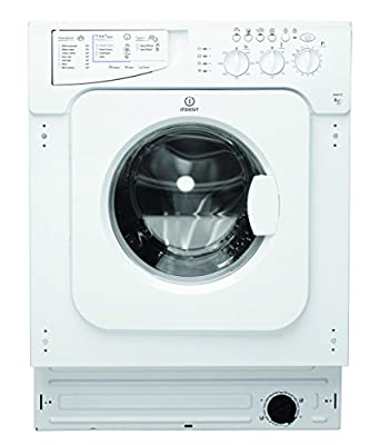Indesit iwme 127 Integrated 7 kg 1200rpm A + White Front Load – Washing Machine (Built-in, Front Loading, White, Left, LED, 52 (L)