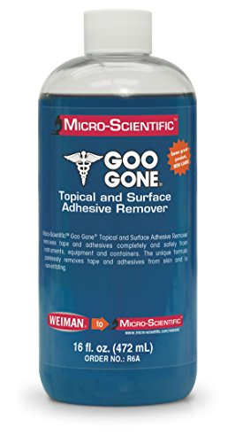 Micro-Scientific Goo Gone Topical Adhesive Remover for Skin - Bandage & Surface Adhesive Remover for Healthcare/Medical Application