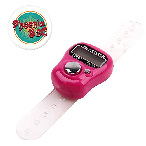 Useful Electronic Row Counter Finger Ring Golf Digit Stitch Marker LCD Tally Counter by Phoenix B2C UK