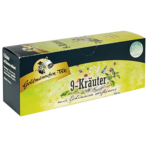 Thüringer 9 Kräuter Tee Goldmännchen