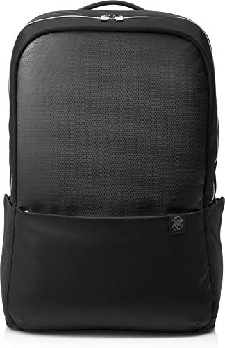 HP Duotone Black & Silver Backpack for Up to 15.6 Inch (39.6 cm) Laptop/Chromebook/Mac