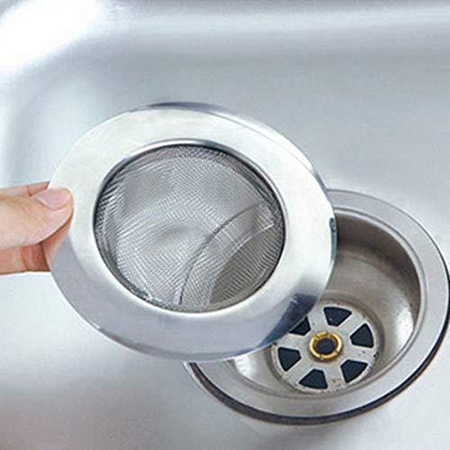 Doccia Scarico a pavimento Filtro per lavandino in acciaio inox adatto per lavello per cucinare il lavello Drenaggio del bagno di filtrazione del lavandino del lavello del lavandino del lavandino del