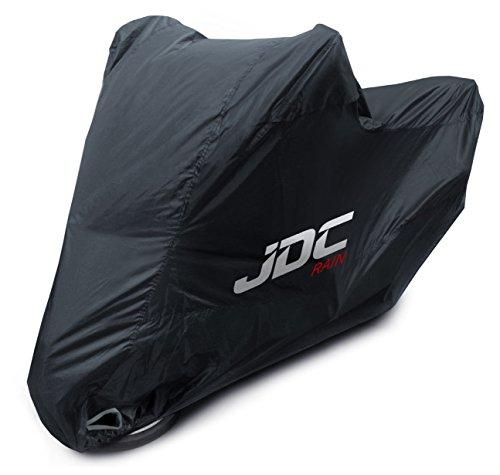 JDC Motorcycle Cover Waterproof - Black - RAIN - L
