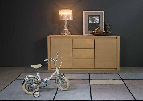 Legno&Design Como 'Buffet Commode en Bois Massif à 2 Portes et 3 tiroirs