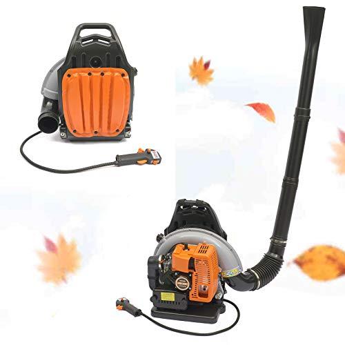 Aspirador y soplador de hojas de gasolina de 2 tiempos, mochila ajustable, limpiador de hojas, sopladores de jardín, aspirador de jardín, herramienta para barrer hojas caídas