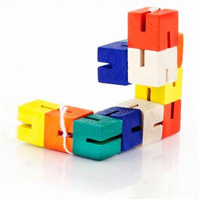 Pack of 4 Twist and lock blocks